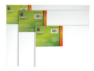 Lienzo Para Pintura 18 X 24 Cm C/20 Pzas Oleo