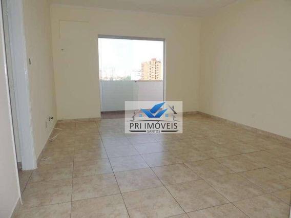 Apartamento À Venda, 138 M² Por R$ 465.000,00 - Ponta Da Praia - Santos/sp - Ap1081