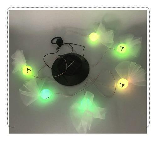Imagen 1 de 8 de Lámpara Colgante De Viento Solar Sunny Dolls Creative Sunny