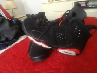 Zapatillas Jordan Retro 6 Infrared 9 De 10