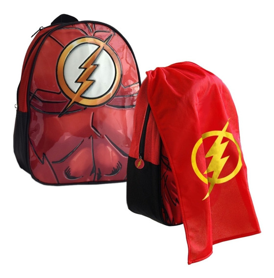Mochila Espalda Jardin 13p Batman Superman Flash Maravilla