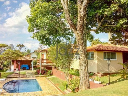 Imagem 1 de 30 de Belíssima Chácara Com 3 Dormitórios À Venda, 1200 M² Por R$ 1.300.000 - Condomínio Cachoeiras Do Imaratá - Itatiba/sp - Ch0515