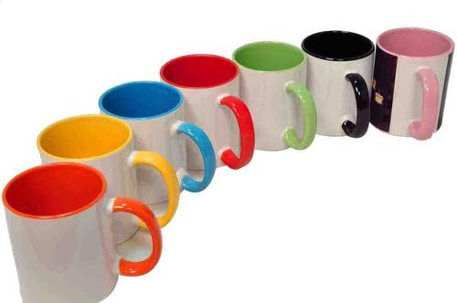 Mug Color Interno Sublimacion 11 Onzas Aaa!
