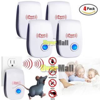 4pack Ultrasonic Pest Repelente Repelente Electrónico Raton