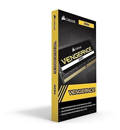 Memória Corsair Ddr4 Vengeance Notebook 16gb(1x16gb)2400mhz
