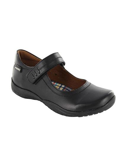 Zapato Escolar Para Niña Coqueta Georgina Negro T22-26
