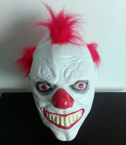 Mascara Latex Terror Payaso Asesino Clown It Hallowen Clown