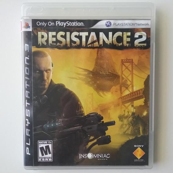 Resistance 2 Ps3 Mídia Física Original Ótimo