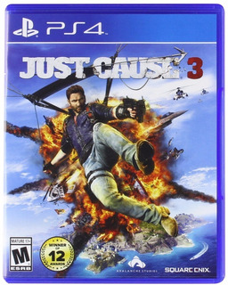 Just Cause 3 Ps4 Fisico Sellado Original Cuotas Ade Ramos