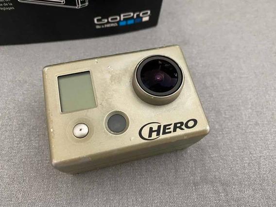 Go Pro Hero 1 + Tela + Kit Com Acessórios