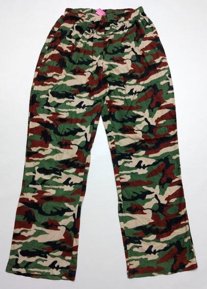 Pijama Pantalón Camuflado Talle L Flecee