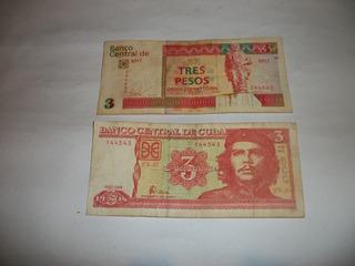 Pesos Cubanos Del Che Guevara De Coleccion
