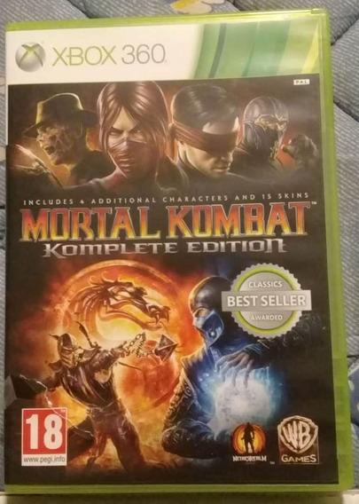Jogo Xbox 360 Mortal Kombat Komplete Edition