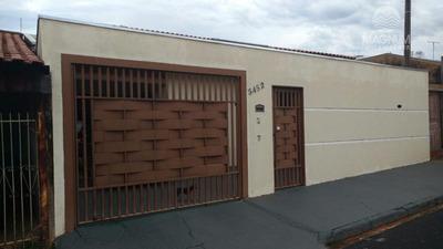 Casa Residencial À Venda, Regissol, Mirassol. - Ca0662