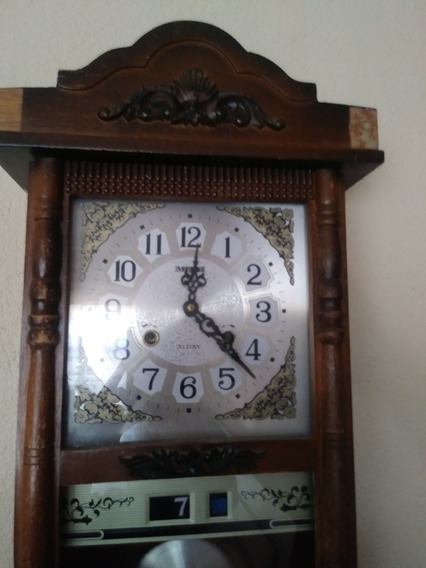 Reloj Antiguo De Pendulo Miyai