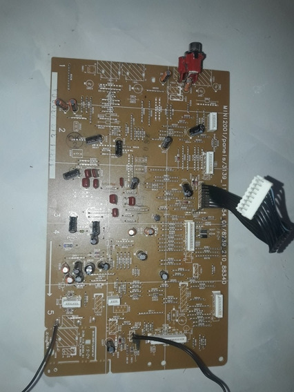 Placa Lateral Do Mini System Philips Fw_c5