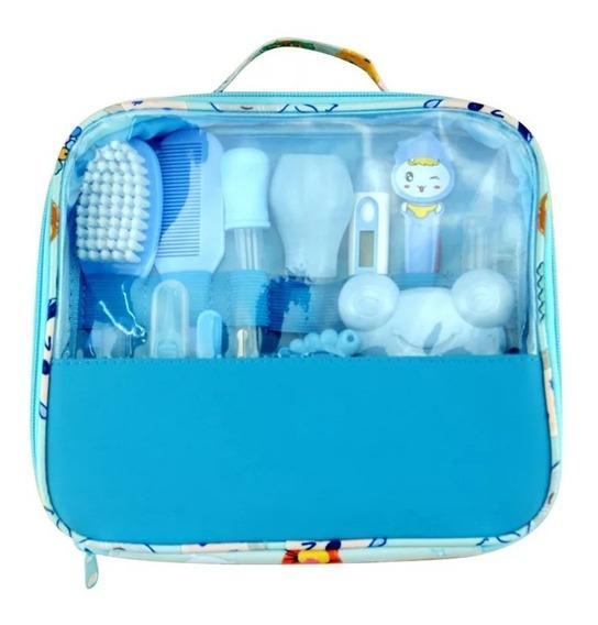 Promoção! Kit Higiene Bebê Maternidade Cuidados Termômetro