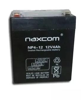 Bateria 12v 4ah Alarmas Lampara Ups, Cerco Electrico