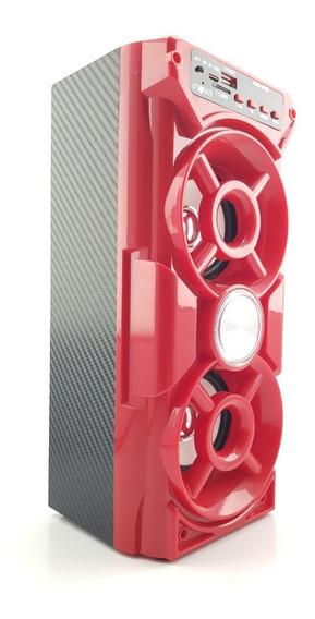 Caixa Som Portátil Amplificada Bluetooth Recarregável Oferta