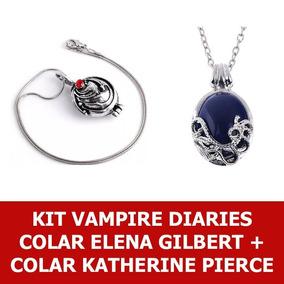 Elena Gilbert + Katherine Pierce The Vampire Diaries Verbena