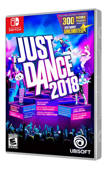 Jogo Just Dance 2018 Switch Mp