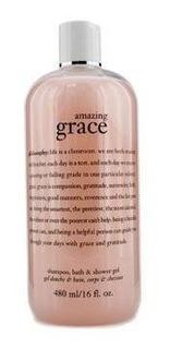 Philosophy Amazing Grace Perfumed Shampoo Baño Gel De Duch