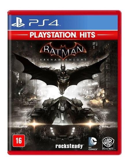 Batman Arkham Knight - Ps4 - Mídia Física - Novo - Português
