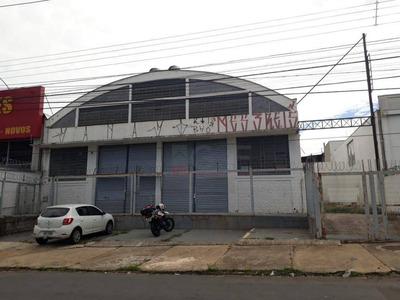 Galpão Para Alugar, 1000 M² Por R$ 10.000/mês - Jardim Eulina - Campinas/sp - Ga0403