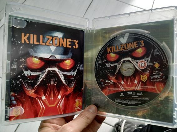 Killzone 3 Ps3 Semi Novo Mídia Física Zerada Português
