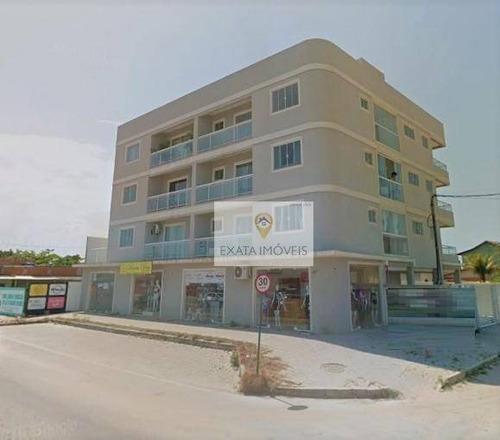 Apartamento Com Comércio E Transporte Na Porta, Jardim Atlântico/ Rio Das Ostras. - Ap0142