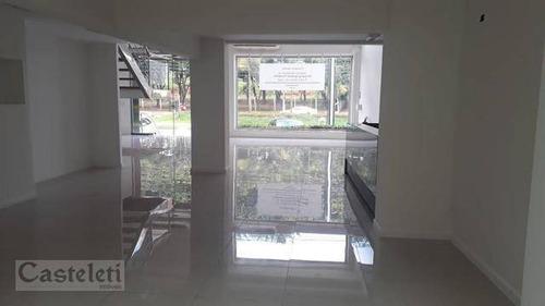 Salão Para Alugar, 420 M² Por R$ 23.000/mês - Cambuí - Campinas/sp - Sl0353