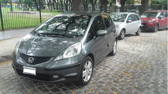 Unico Dueño-impecabe!! Honda Fit Ex-l A/t Servicio Oficial