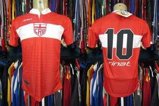 Crb 2016 Camisa Reserva Tamanho P Número 10.