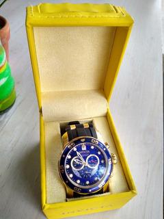 Reloj Invicta Pro Driver Original Negro Y Dorado Modelo 6983