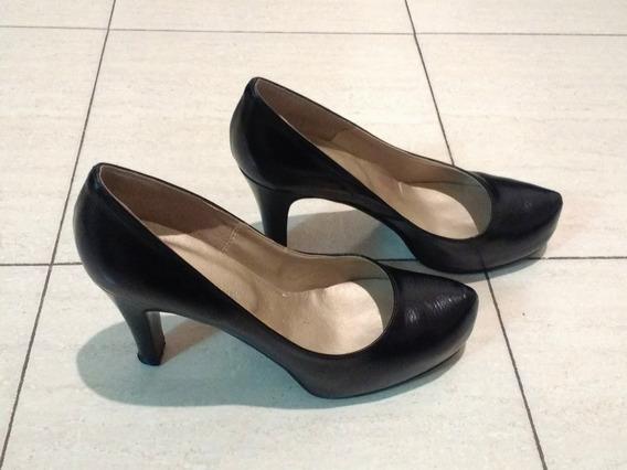 Zapato Mujer Cuero Batistella 39 - C/ Nuevo - Un Solo Uso