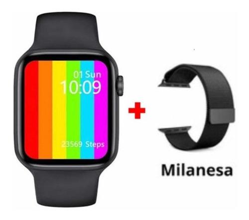 Relógio Smartwatch Iwo W46 Watchface Personalizável 44 Mm