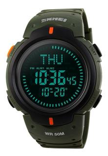 Reloj Militar De La Supervivencia Del Reloj Digital De Lo