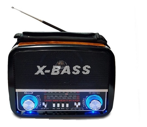 Radio Caixa De Som Am Fm Usb Sd Mp3 Retro Vintage Luxo Mp3