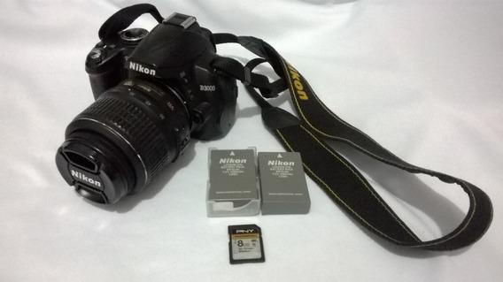 Vendo Câmera Nikon D3000 , Usada Ótimo Estado De Conservação