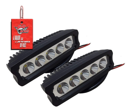 Par De Farolete Automotivo - 5 Leds