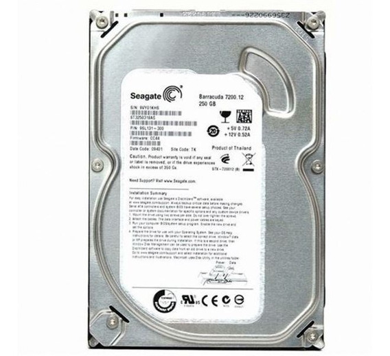 Hd 320gb Sata Pc Desktop 100%