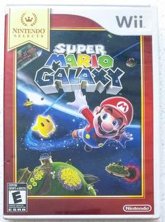 Super Mario Galaxy Videojuego Wii Nintendo Selects