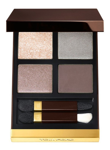 Tom Ford Color De Ojos Quad - # 05 Topacio Plateado 10 G / 0