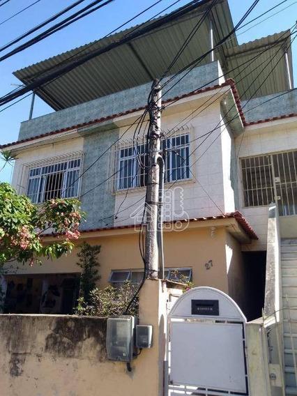 Casa Residencial À Venda, Barro Vermelho, São Gonçalo - Ca0716. - Ca0716