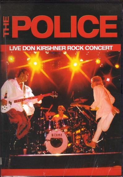 The Police ( Live Don Kirshner ) Dvd Original Nuevo Sellado