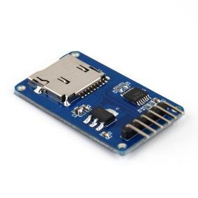 Módulo Leitor E Gravador De Cartão Micro Sd Ideal P/ Arduino