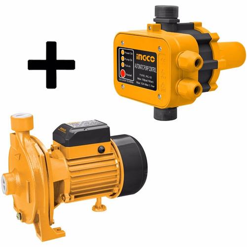 Ff Kit Elecbombazo Ingco Bomba 1hp Centrifuga + Pres Control