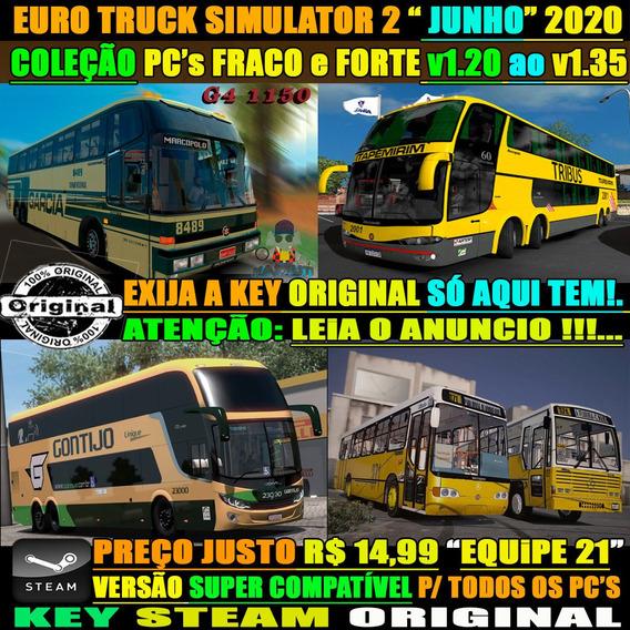 Euro Truck 2 Bus Brasil 2019 Simulador Ônibus C/ Rodoviarias