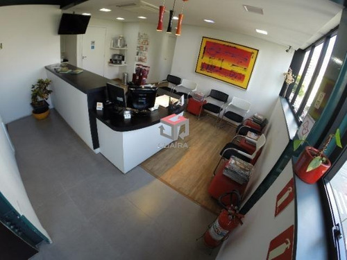 Imagem 1 de 13 de Excelente Salão Comercial Para Aluguel, 2 Vagas, Bairro Jardim - Santo André/sp - 77832