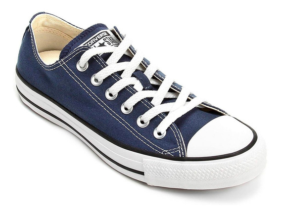 Tênis Converse All Star Ct As Core Ox - Marinho E Preto